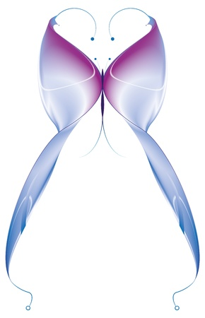 butterfly abstract   Vector