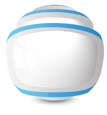 clarity: abstract vector sphere