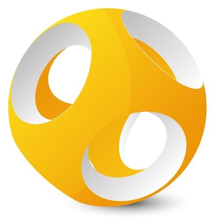 abstraction ball Stock Vector - 16655718