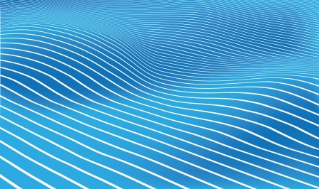wave background Illustration