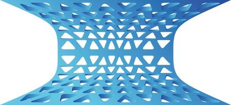 meshy: perforation background Illustration