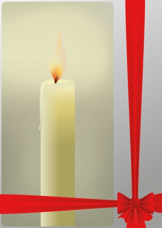 vector candle Stock Vector - 17016617