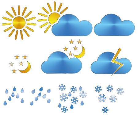 meteorologist: Weather icons