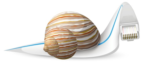snail vector Stock Vector - 17640700
