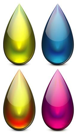 water drop Stock Vector - 18058003