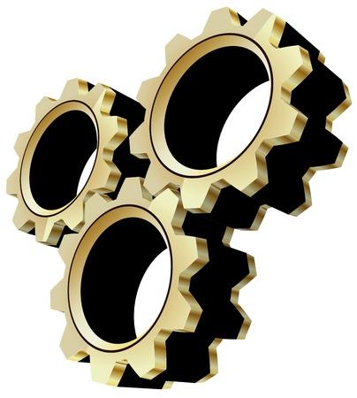 gears Stock Vector - 18058004