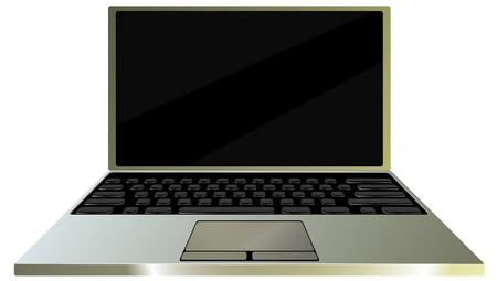 Laptop Stock Vector - 18271454