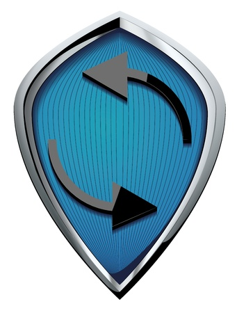 shield vector Stock Vector - 18271457