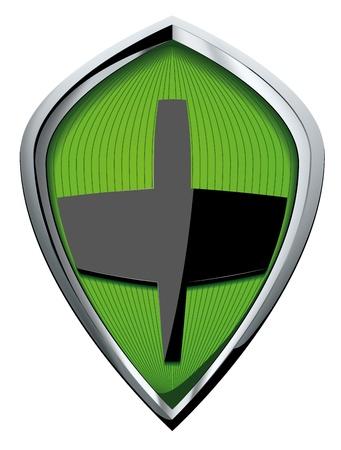 shield vector Stock Vector - 18271456