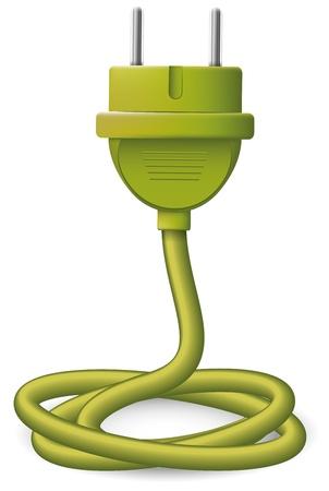 electric plug: Spina elettrica