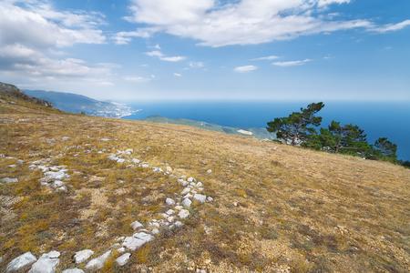 Mount Ai-Petri picture made with summer Crimea
