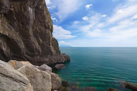 sudak: settlement New Svet Crimea