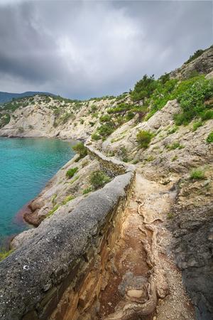 summer travel walking on the Crimea