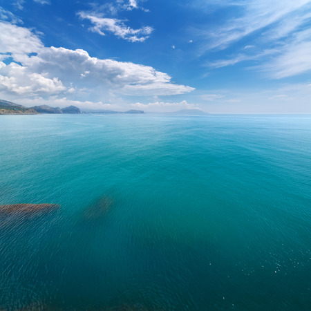 photo an aerial view of Crimea Stock Photo