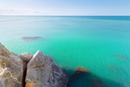 Cape Alchak  city Sudak Crimea travel bright summer photo