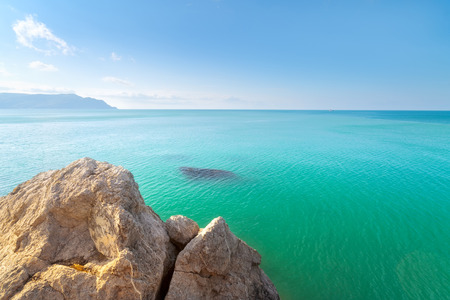 sudak: Cape Alchak  city Sudak Crimea travel bright summer photo