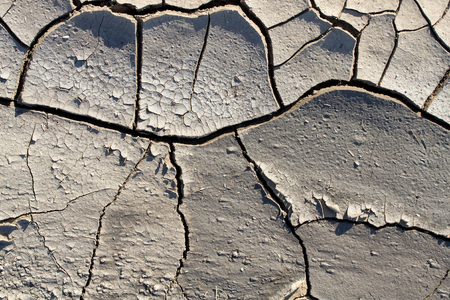 drought makes the ground interesting things  texture of cracked earth close-up Stock Photo