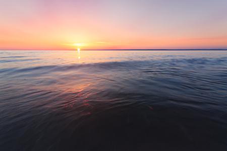 interesting sky summer landscape dawn / early morning sunrise Reklamní fotografie
