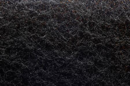 black felt macro texture  background photo background texture