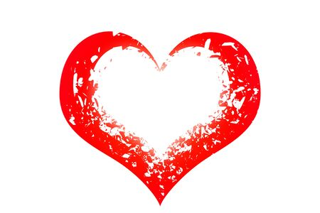 abstract background illustration  illustration heart
