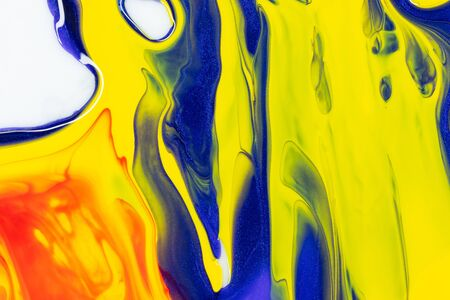 patterns of paint on the water  background photo beautiful patterns 写真素材