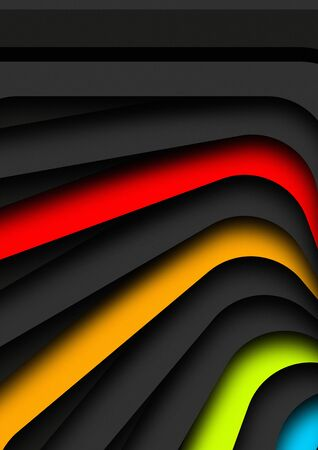 background geometric shapes  abstract vector illustration design element eps10 Banco de Imagens