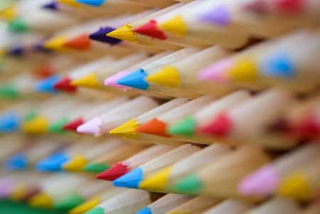 display pencils of color