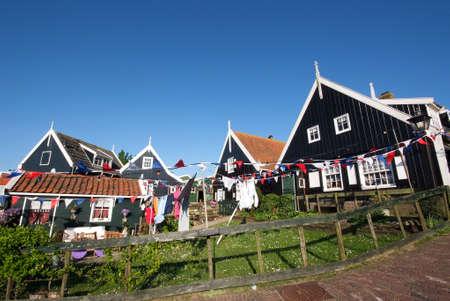 marken: ile de marken - village historique
