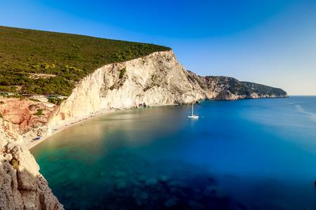 ionio: Porto Katsiki beach at Lefkada island, Greece. Porto Katsiki, best beach in Greece