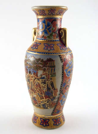 Picture Of An Old Chinese Vase Stock Photo Picture And Royalty Free