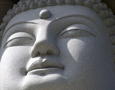 The Serene Face of Bhudda