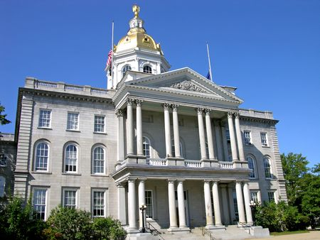 New Hampshire State House, Concord Stock Photo