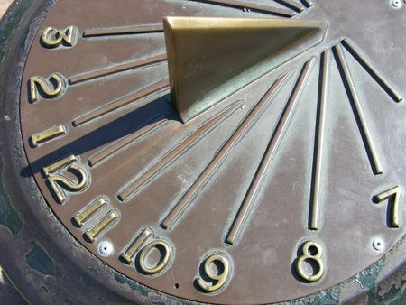 Lunch Time - Sun Dial