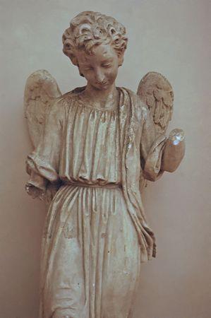 Angel - Florence, Italië Stockfoto