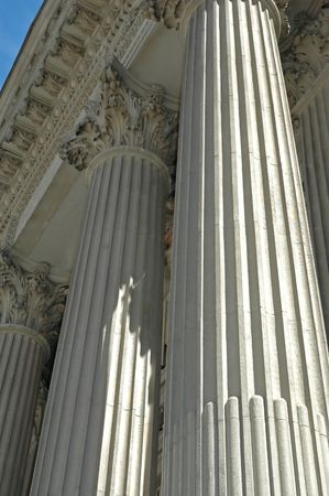 Bank Pillars Banco de Imagens