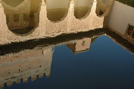 Alhambra Palace Pool, Granada, Spain Sajtókép