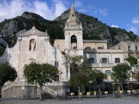 Town Square - Taoromina Sicily