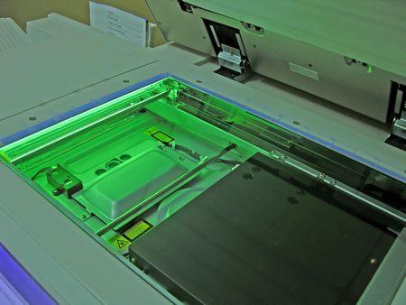 fotocopiadora: Fotocopiadora en el trabajo.