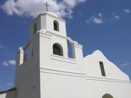 scottsdale: Mission Church, Scottsdale, Arizona Stock Photo