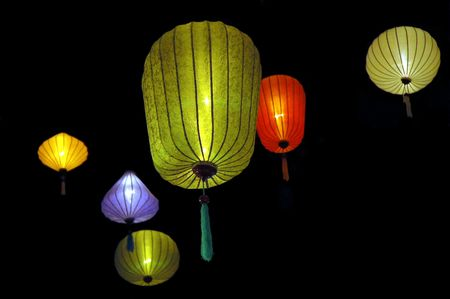 Floating Lanterns photo
