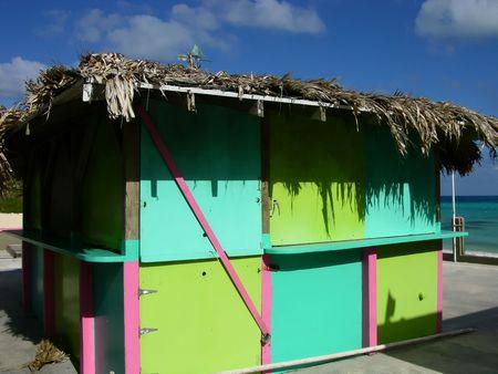 Beach Hut Фото со стока