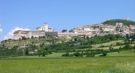 Assisi, Italië Stockfoto