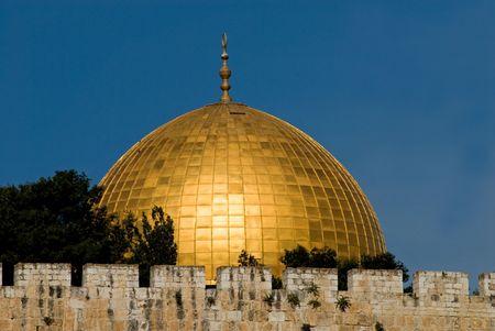 Golden, glanzend, schitterend - The Dome of the Rock, Jerusalem.