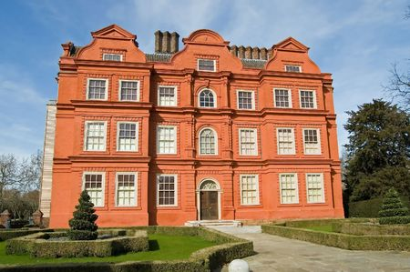 Kew Palace, in the grounds of Kew Gardens, London, England. Stock Photo