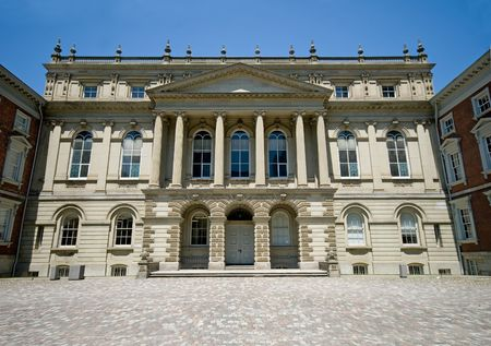 Classic architecture - Osgoode Hall - downtown Toronto, Ontario, Canada.