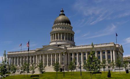 Very elegant looking - the Utah State , Salt Lake City.