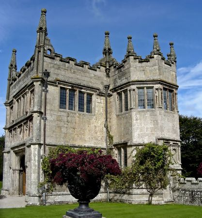 lanhydrock: The classic looking gate house at the Lanhydrock estate, Cornwall, England.