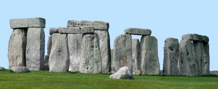 De verbazingwekkende oude Stonehenge, Wiltshire, Engeland - een UNESCO World Heritage Site.