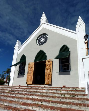 The oldest Anglican church in the Western Hemisphere - St. Peter's, Bermuda. Banco de Imagens - 4186080