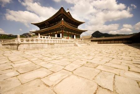 De historische Changdeokgung Palace, Seoul, Korea.